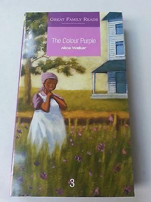 The Color Purple - Alice Walker - Great Family Reads  - New Hardback Book