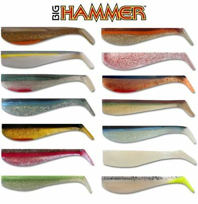 Big Hammer Swimbaits Saltwater or Freshwater  Choose Size and Color Hand poured