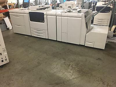 Xerox Color J75 w/ LCT, Booklet Maker CZ Fold, EXJ75, SquareFold Trimmer 397,000