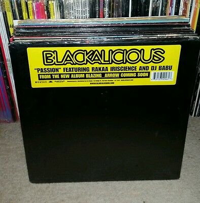 "Blackalicious Passion Ft. Rakaa Iriscience Dj Babu Og Us 12"" 2003 Still Sealed"