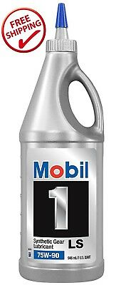 Mobil 1 Synthetic Gear Lube, LS 75W-90, 1-Quart 104361 ORIGINAL