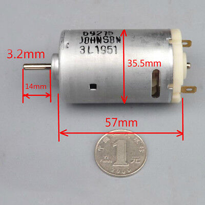 Electric RS-550 Motor 12V 21000RPM High Speed - 550 Size DC Motor YJ