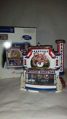 Department 56 Snow Village In Box - Dick Clark American Bandstand Christmas