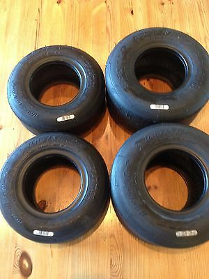 LS2 D BATCH Dunlop Slick Go Kart Tyres for Sale: Honda, Cadet, Clubman, 2017