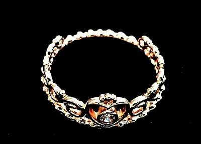 Genuine Pandora Tiara Ring 180880Cz, Rose Gold,various Sizes, Free Uk P&p.