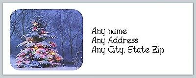 Personalized Address Labels Christmas Buy 3 get 1 free (ac 247)