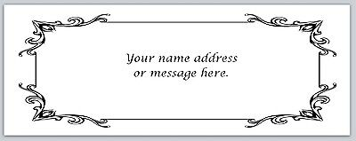 30 Personalized Return Address Labels Victorian Buy 3 get 1 free (bo 387)
