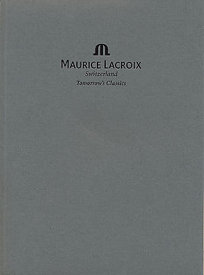 Uhrenkatalog Maurice Lacroix Collection 2003 2004  Katalog Uhren catalog watches