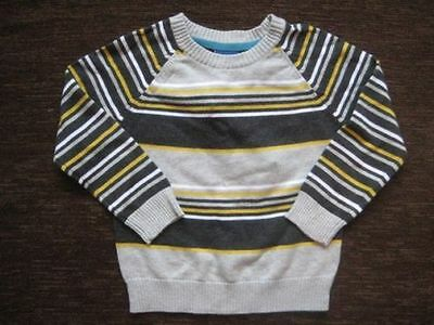 Boys Grey Tesco Cotton Jumper 18-24 Months New with tags