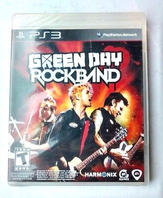 Green Day Rock Band For PS3 PlayStation 3 NEW SEALED!!!