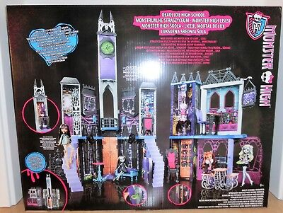 Mattel Monster High CJF48  Mega Schule Deluxe Monsterschule Neu & OVP