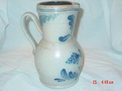 Rowe pottery 1989 Limited Edition Pitcher numbered 508/1500