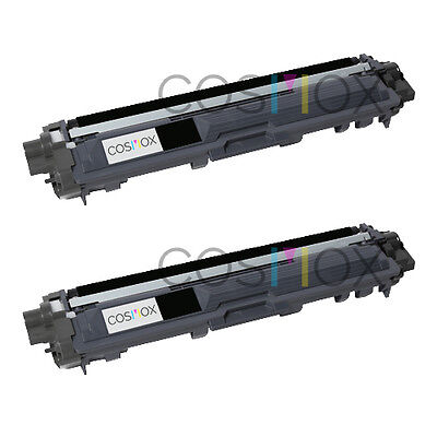 2x TN221 Black Compatible Toner for Brother HL-3170CDW HL-3180CDW MFC-9130CW