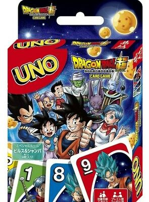 UNO Dragon Ball Super Card Game  Trump Japanese Anime from Japan F/S
