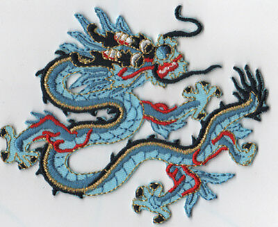 Embroidered Dragon Patch