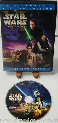 Star Wars Return of the Jedi Dvd  1 Full Screen Disc  Remastered Version