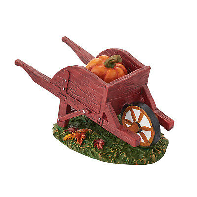 "Dept 56 Accessories ""Harvest Fields Wheelbarrow"" NIB #4047615"