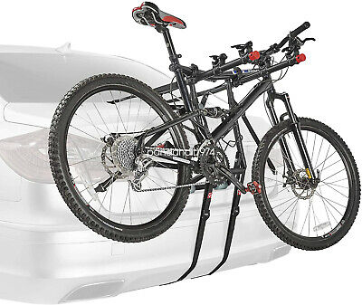3 Bicycle Rear Mounted Car Mount Cycle Carrier Hatchback Bike Foldable Rack