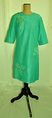 Vintage 50's FIFTH AVENUE FROCKS design Shift Style Frock with Matching Hat
