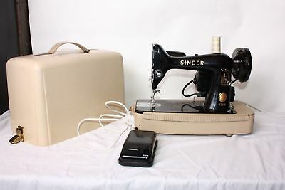 Singer 99K Sewing Machine Vintage Rare Heavy Duty Electric 1954 & Controller P31