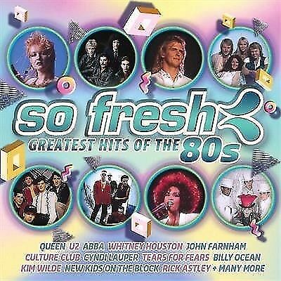 So Fresh Greatest Hits Of The 80's BRAND NEW SEALED 2 CD 38 Tracks