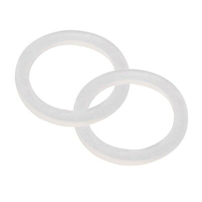 Silicone Gasket Tri Clover Tri Clamp Ring 2 Inch Pack of 2 Silicone Gasket Fit