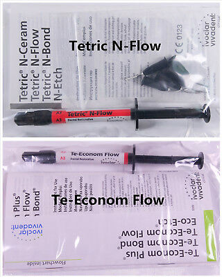 Te-Econom/Tetric N-Flow A1 A2A3 Ivoclar Vivadent Dental Composite Flowable Resin