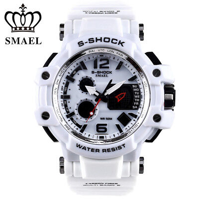 SMAEL Digital Watches Men LED Electronic Wristwatches Fashion Sport Quartz Watch