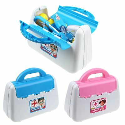 Pretend Kid Doctor Nurse Medical Case Role Play Set Gift Toy Educational Kit