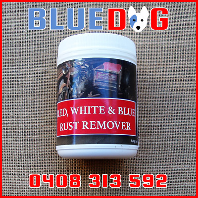 Rust Remover Motorcycle Motorbike Parts Red White And Blue Aust Made