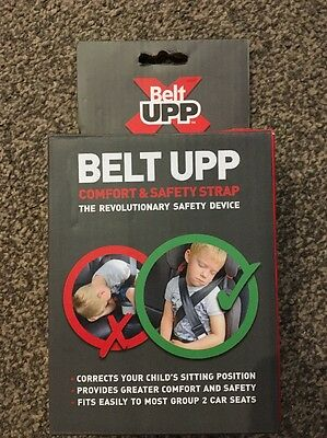 Belt UPP Child Car Seat Belt Safety Strap for Group 2 High Backed Child Booster