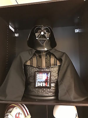 *1:1 Empire Strikes Back Darth Vader Bust/ Fiberglass Rare Prop/ Star Wars*