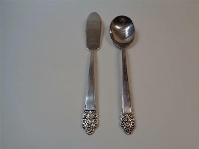 Rogers DeluxePlate 1847 Orginal Rogers PRECIOUS Sugar Spoon Master Butter knife