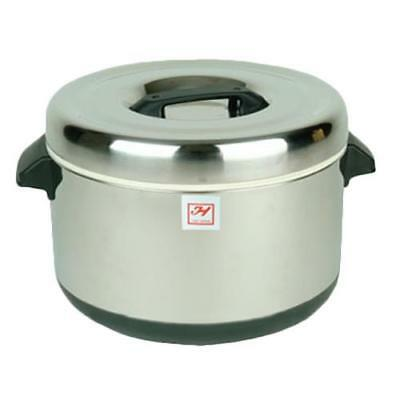 1 Set SEJ20000 Electric Rice Warmer Serves 30 Cups Cooked Rice Stainless Steel