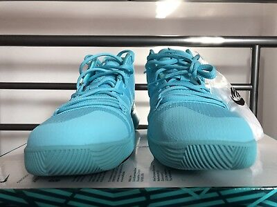 new products d33d4 852bd NEW Nike Youth Kyrie 3 Aqua Basketball Shoes (GS) 859466 401 Size 5.5Y