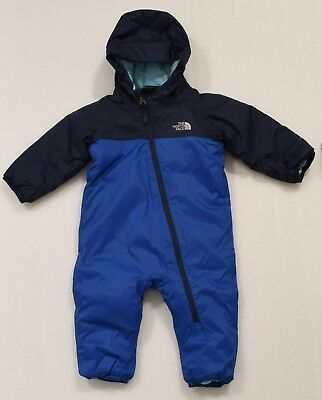 240c0f530 THE NORTH FACE Infant Insulated Tailout One Piece Bright Cobalt Blue (A34V4  4H4)