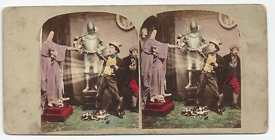 Stereo Stereoview Genre Punch's Stereoscopic Sketches Licht London ca. 1860