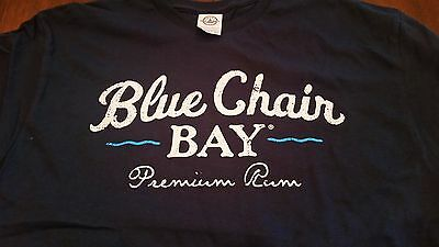 Blue Chair Bay Rum - Kenny Chesney - Navy Blue - EUC - T shirt - Men's L