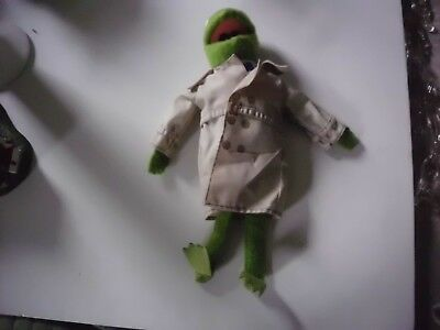 Fisher Price Jim Henson's Muppets Kermit The Frog Reporter Outfit Felt Plush 857