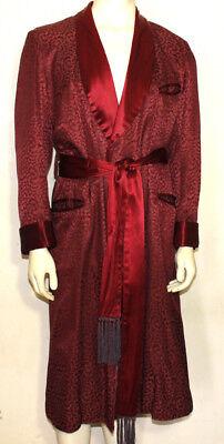 Marshall Field & Co. vintage lounging  smoking robe gown  distress