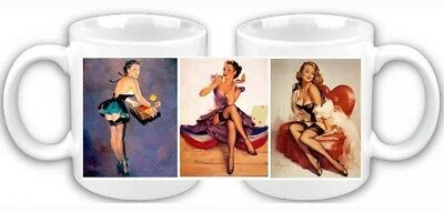 Gil Elvgren Pin Up Girls Coffee Mug