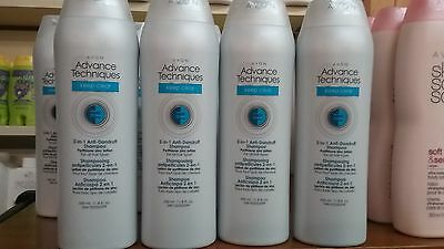 avon lot advance techniques keep clear anti-dandruff shampoo free 3-day shipping