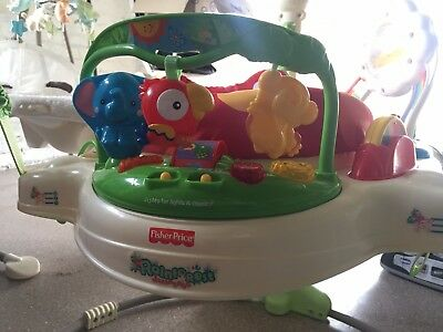 Fisher Price Rainforest Jumperoo with Lights Music
