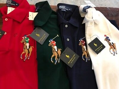 POLO Ralph Lauren Classic Fit Short Sleeve Polo Mesh Shirt New w/tags Authentic