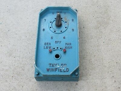 50 kVA Taylor Winfield Spot Welder Tap Switch Assembly ~Make Offer~ FREE SHIP