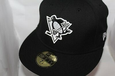 lowest price 31818 d0cc0 Pittsburgh Penguins New Era NHL Black White 59fifty,Cap,Hat,   37.99 NEW