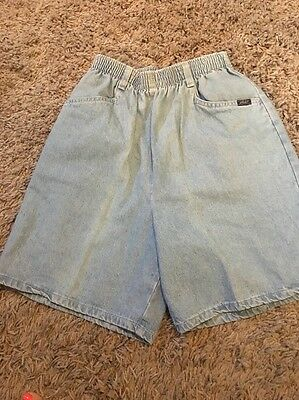 Vintage CHIC High Waist Baggy GRUNGE Denim 80's Mom Jean shorts Women's 8