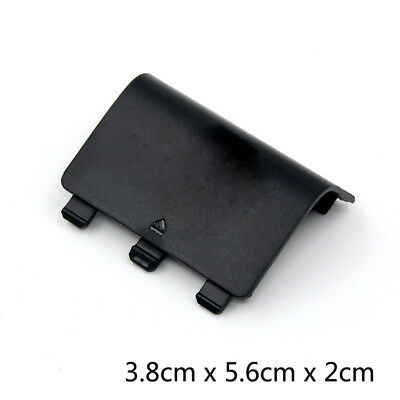 Battery Cover Door Lid Shell Replacement for XBOX One Wireless Controller  Black