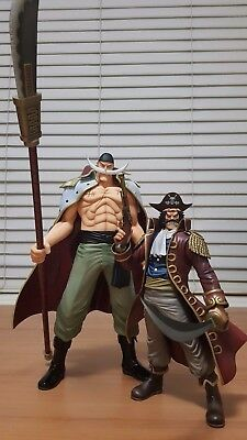 Authentic One Piece figure POP Portrait of Pirates, Whitebeard and Gol D Roger