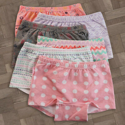 3 Pack Colloky Girls Youth cotton Hipster boyleg Shortie underwear size Yr 3-12